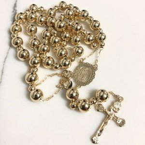 18k Gold Filled Rosary